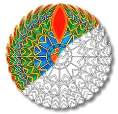 Falcon Mandala