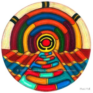 Mandala of the Week - Week #2 Music Hall Color