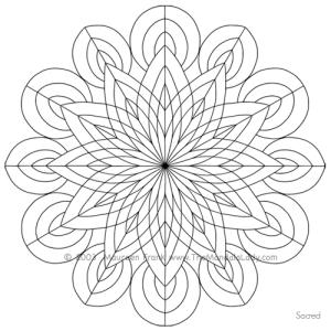 """Sacred"" Mandala Design"