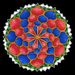 Vivian 1 Mandala