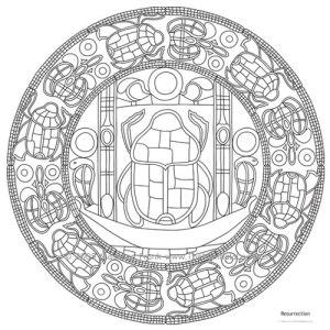 Resurrection Mandala Design