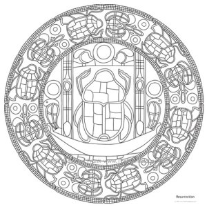 Resurrection Mandala Design