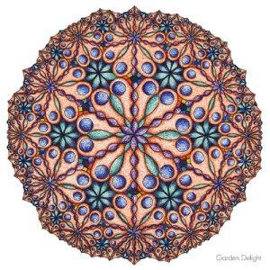 Garden Delight Mandala