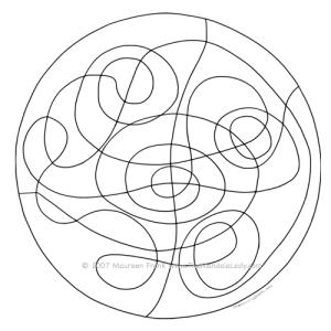 Inner Tubes Mandala