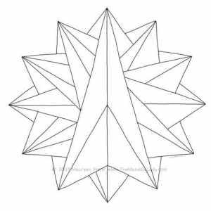 Crystalite Mandala Design