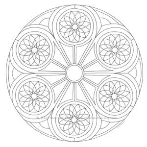 Portal Mandala Design