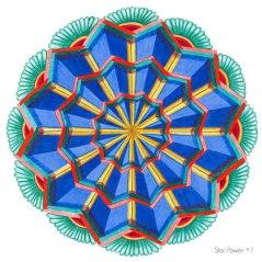 Star Power Mandala #1