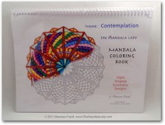 Contemplation Mandala Coloring Book