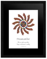 Dreamcatcher Mandala Poster