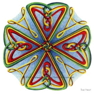 True Heart Mandala