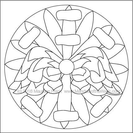 Tis the Season for Ornaments Mandala by Maureen Frank (me)