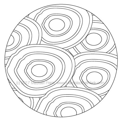 Zen Mandala to Color - designed by me (Maureen Frank)
