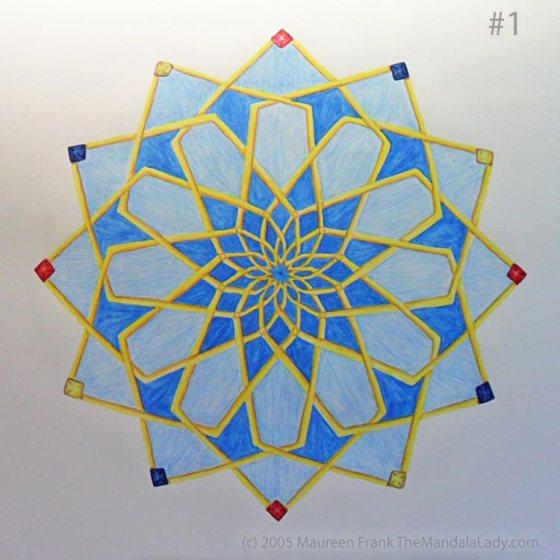 Mosaic Mandala Mandala - a work in progress
