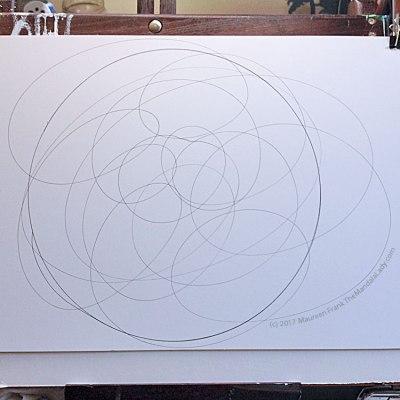 My Journey - Doodle Mandala