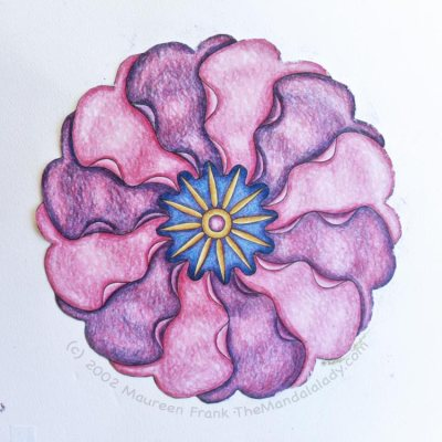 Primrose Mandala - Version 2